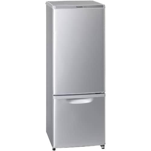 NR-B17AW-S [パーソナル搭載冷蔵庫 (168L・右開き) 2ドア シルバー]