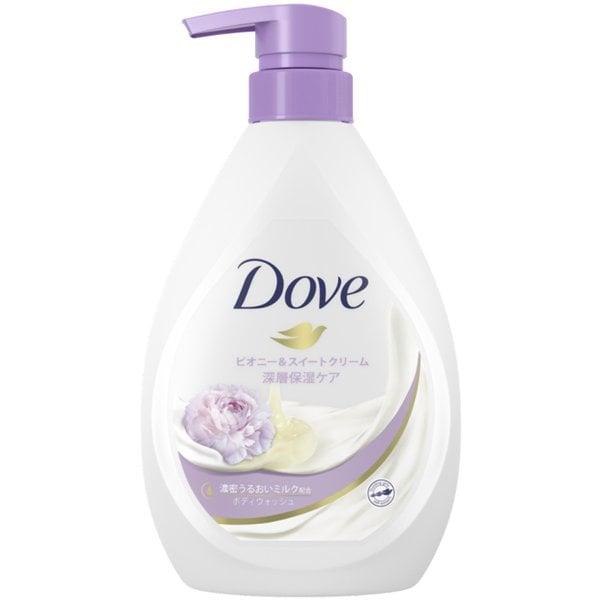 Dove(ダヴ) ボディウォッシュ リッチケア 深層保湿ケア ピオニー&スイートクリーム 本体 480g [ボディソープ]
