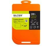 きれいのミカタ 丸めて煮沸除菌できるまな板 Mサイズ オレンジ