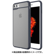 MN89153i7SP [iPhone 8 Plus/7 Plus BOIDO NV/BL(ハーフミラー)]