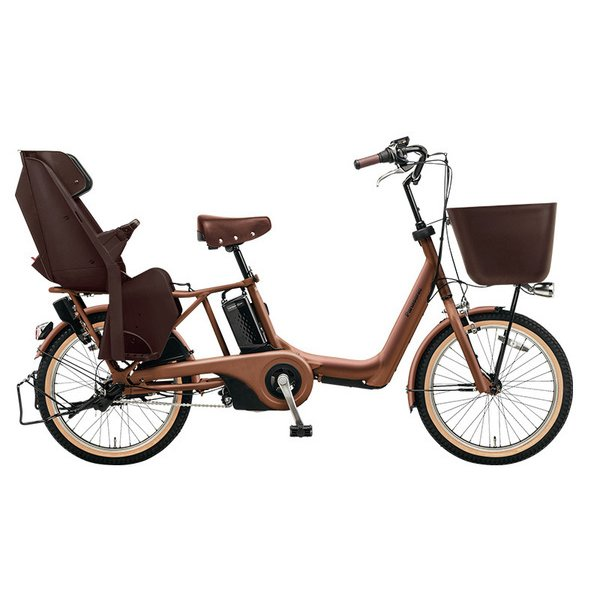 BE-ELKE03T [電動アシスト自転車 ギュット・アニーズ・KE 20型 20Ah 内装3段変速 ラクイック搭載 マットフォースブラウン 2018年フラグシップモデル]