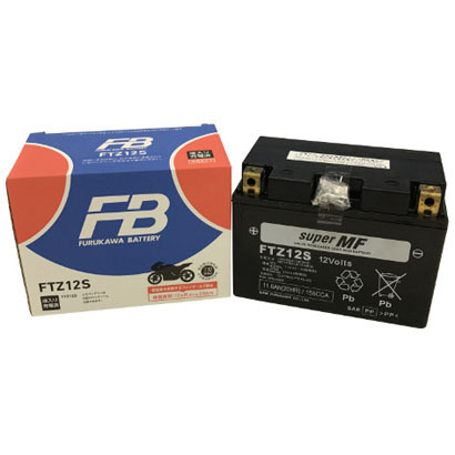 FTZ12S [バイク用バッテリー 液入り充電済み]