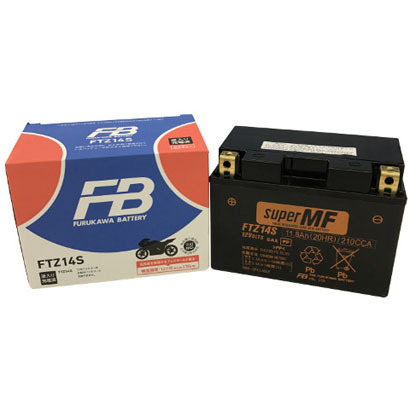 FTZ14S [バイク用バッテリー 液入り充電済み]