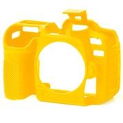 イージーカバー Nikon D7500用 イエロー [カメラ用シリコンカバー]