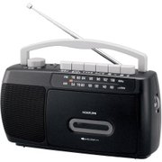 SAD-1717/K [モノラルラジカセ ワイドFM対応 ブラック]