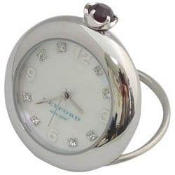 K11-010-007 [Ring Birth Clock スワロフスキー ガーネット 1月]