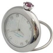 K11-010-008 [Ring Birth Clock スワロフスキー アメジスト 2月]