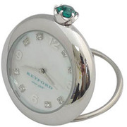 K11-010-011 [Ring Birth Clock スワロフスキー エメラルド 5月]