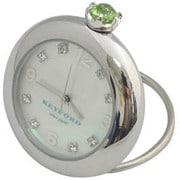 K11-010-014 [Ring Birth Clock スワロフスキー ペリドット 8月]