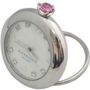 K11-010-016 [Ring Birth Clock スワロフスキー ピンクトルマリン 10月]