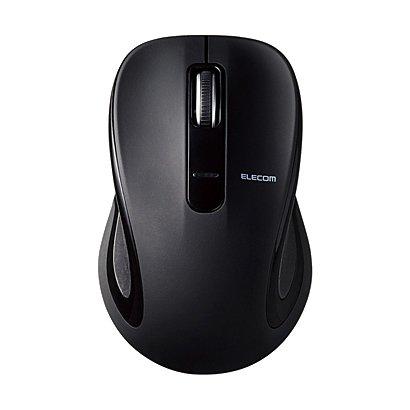 M-BT18BBBK [BlueLEDマウス Salalシリーズ Mサイズ Bluetooth 3ボタン ブラック]