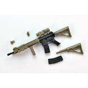 LittleArmory LA037 M4A1SOPMOD BLOCK2タイプ [リトルアーモリー 1/12スケール 全長約65mm 無彩色ランナーキット]