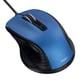 MUS-UKF142BL [BlueLED 有線静音マウス Sサイズ F_line 5ボタン ブルー]