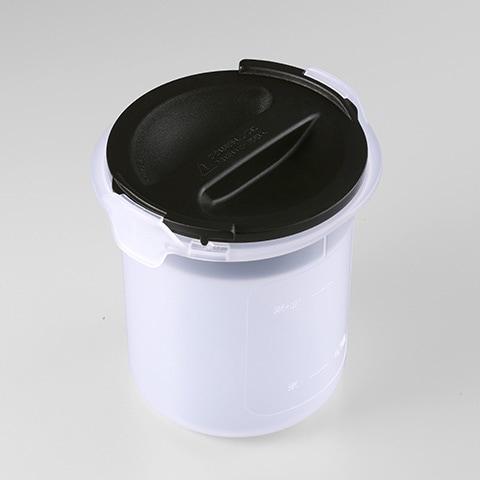 B361330 [JBS-360 ご飯容器セット ブラック]
