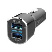 AJ-554 [DC充電器 5.4A急速充電 リバーシブルUSB 2ポート QC3 自動判定]