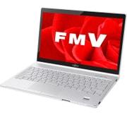 FMVS90B3W [ノートパソコン LIFEBOOK SHシリーズ/13.3型ワイド/Corei5-8250U/メモリ 4GB/SSD 256GB/DVDスーパーマルチ/Windows 10 Home 64ビット/Office Home and Business プラス 365 サービス/アーバンホワイト]