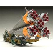ソユーズロケット+搬送列車 [1/150スケール 組み立て式プラスチックモデル]