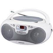 RCR-530N-S [AudioComm CDラジオ ワイドFM対応 シルバー]