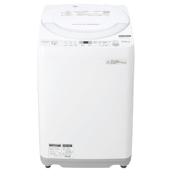 ES-GE6B-W [全自動洗濯機(6.0kg) ホワイト系]