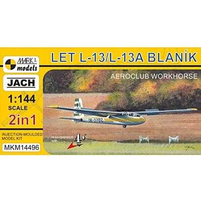 MKM14496 [1/144 エアクラフトシリーズ No.14496 L-13 ブラニック グライダー「エアロクラブ」(2キット入)]