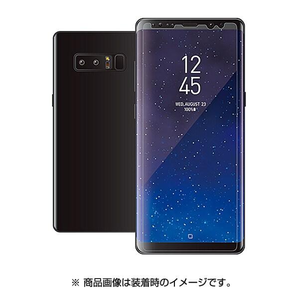 PM-SCN8FLFT01 [Galaxy Note 8 防指紋 反射防止 薄型 液晶保護フィルム]