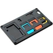 SCM-SI01/BK [SIM変換アダプター付 カードホルダー ブラック]
