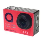 Q-camera ACX1 NR [アクションスポーツカメラ ネイビー・アンド・レッド]