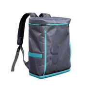 UPQ Bag BP01 BG [充電できるバックパック 「USBバックル」付き ブルー・バイ・グリーン]