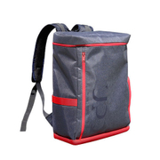 UPQ Bag BP01 NR [充電できるバックパック 「USBバックル」付き ネイビー・アンド・レッド]
