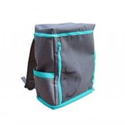 UPQ Bag BP02 mini BG [充電できるバックパックmini  「USBバックル」付き ブルー・バイ・グリーン]