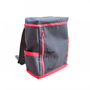 UPQ Bag BP02 mini NR [充電できるバックパックmini  「USBバックル」付き ネイビー・アンド・レッド]