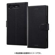 RT-RXZ1ELC1/BB [Xperia XZ1 手帳型ケース シンプル マグネット ブラック/ブラック]