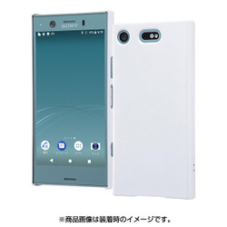 1366025ce4 ヨドバシ.com - レイアウト rayout RT-RXZ1CC4/W [Xperia XZ1 Compact ハードケース マットコート/ホワイト]  通販【全品無料配達】