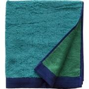 353 潤いのタオル トプカプ バスタオル ブルー (タ-コイズ×グリーン)