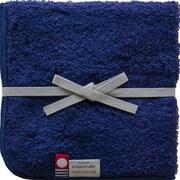 356 潤いのタオル トプカプ タオル ハンカチ ネイビー (紺×レッドバイオレット)