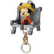 ディズニー おかえり!キーチェーン (1)ミッキーマウス [約H60×W47×D50mm]