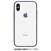 PGK-44 [iPhone X ケース Shock proof Air Jacket ラバーネイビー]