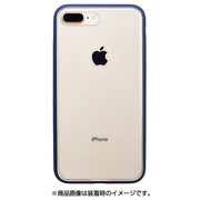 PBK-54 [iPhone 8 Plus/7 Plus ケース Shock proof Air Jacket ラバーネイビー]