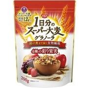 1日分のスーパー大麦グラノーラ 4種の彩り果実 200g [シリアル]