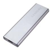 CAM2-U31C [M.2(NGFF B-key)規格SSD 専用USB3.1 Type-C接続アルミ製ケース]