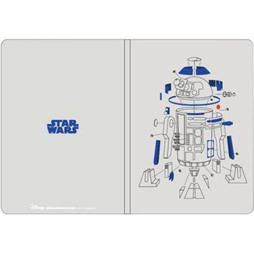 スター・ウォーズ B6ノート 設計図 R2-D2 [キャラクターグッズ]
