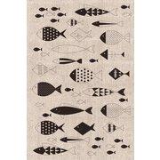 キッチンタオル fishes