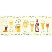 51686 [Kenema 注染手ぬぐい 食べ物 ビール]