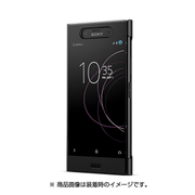 SCTG50JP/B [Xperia XZ1 Style Cover Touch Black]