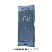 SCTG50JP/L [Xperia XZ1 Style Cover Touch Blue]