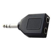 FAD-806SS [分配アダプター 6.3mmステレオ標準プラグ-6.3mmステレオ標準ジャック×2]