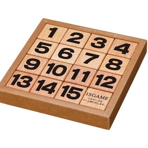 かつのう 15ゲーム [立体パズル]