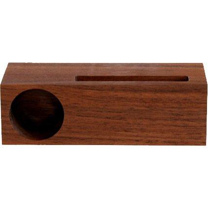 ウォールナット シングル スウーダー [iPod/iPhone用木製スタンドスピーカー]