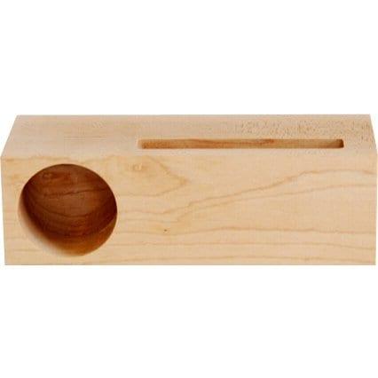 メープル シングル スウーダー [iPod/iPhone用木製スタンドスピーカー]
