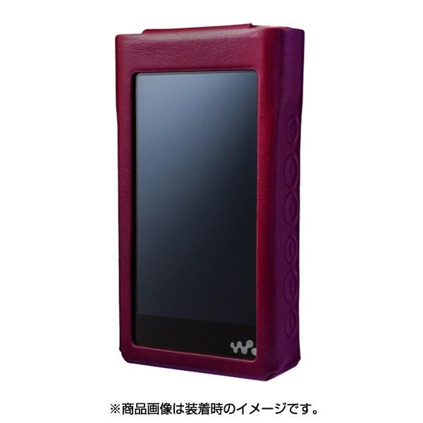 CP-NWWM1LCP/WR [WALKMAN NW-WM1シリーズ プレミアムレザーケース ワインレッド]